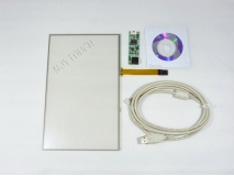 10.2 inch 4 Wire Resistive Touch Screen Panel for 10.2 inch TFT LCD USB Win 7, XP PC