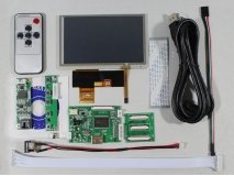5 inch HSD050IDW1 LCD+Touch panel+Remote control+HDMI LCD Controller Board