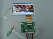 6.2 inch HSD062IDW1 800×480 LCD Display+VGA+2AV with Reversing Driver Board