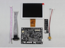5 inch ZJ050NA-08C Replace AT050TN22 V1 640×480 lcd+VGA+AV Controller Board
