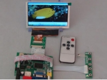 5 inch AT050TN43 800*480 LCD Panel+HDMI+VGA+2AV Controller Board
