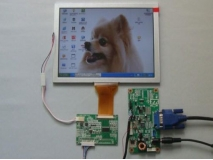 8 inch 800*600 TTL LCD Panel + LVDS to TTL Board + 8inch LVDS LCD Panel