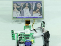 8 inch ZJ080NA-08A 1024*600 LCD Panel+Touch Screen+HDMI+VGA+2AV Control Board