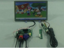 8.9 inch B089AW01 1024*600 Lcd panel+Touch Screen+HDMI+VGA+2AV Controller board