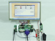 10.1 inch LP101WH1 LTN101AT03 1366*768 LCD+Touch Panel+HDMI+DVI+VGA Control Board