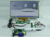 10.2 inch AT102TN03 800*480 LED+Multi-touch+HDMI+VGA+2AV LCD Controller Board