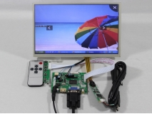 10.2 inch HSD100IFW1/CLAA102NA0ACW LED Panel+Remote+HDMI+VGA+2AV LCD LCD Controller Board