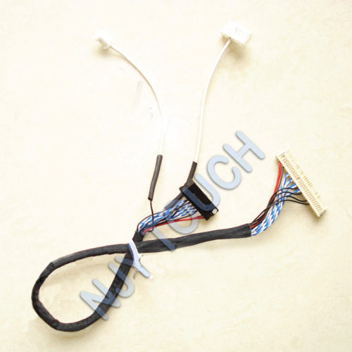 LVDS Cable for HSD100IFW1-A00 CLAA102A0ACW FI-X30 D6 LED