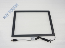 37 Inch Infrared Touch Screen Panel Frame USB Win 7 8 Drive Kit 2 points