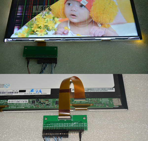 LCD Controller Board & Touch Panel & LED auto lights