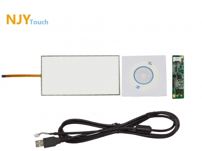 15.6 inch 5 Wire Resistive Touch Screen Panel