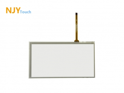 NJYTouch 7inch 4 Wire Resistive Touch Panel 164mmx 103mm For AT070TN84 800x480 LCD Screen