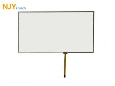 "NJYTouch 10.2inch 4 Wire Resistive Touch Panel 235mm x 145mm For 10.1"" 10.2"" LCD Screen"