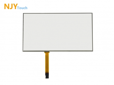 "NJYTouch 10.2inch 4 Wire Resistive Touch Panel 235 x 145mm For 10.2"" AT102TN03 LCD Screen"