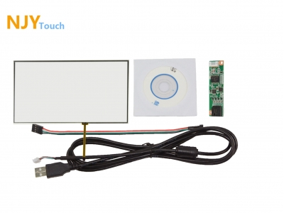 NJYTouch 10.2inch 4 Wire Resistive Touch Panel 235mm x 145mm With USB Controller Card Kit