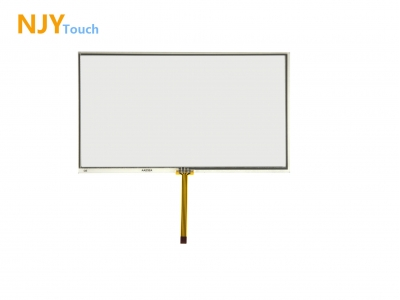NJYTouch 7inch 4 Wire Resistive Touch Panel 165 x 100mm For AT070TN94 800x480 LCD Screen
