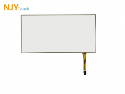 NJYTouch 14.1inch 4 Wire Film to Film Touch Panel 323x 191mm 16:9 For 1366x768 LCD Screen