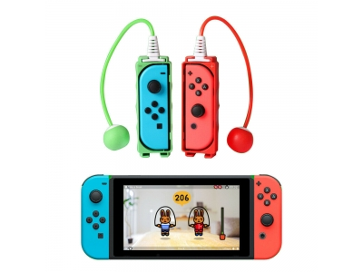 Jump Skipping Silicone Rope Handle Grip For Nintendo Switch/Lite Joy-Con Gamepad