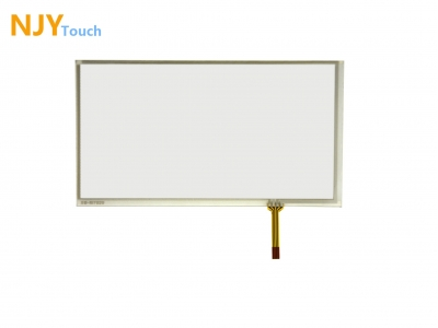 NJYTouch 6.8inch 4 Wire Resistive Touch Panel 167mm x 93mm For TM070RDH01 LCD Screen