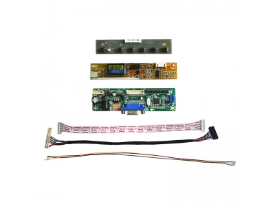NJYTouch V.M70A VGA Driver Controller Board Kit For LP154WX3 LP154WX4 1280x800 LCD Screen