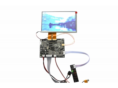 7 inch TFT INNOLUX AT070TN84 2-30 Pin LCD Screen Panel+KYV N2 V2 Controller Board