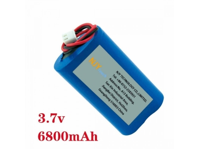 NJYTouch 3.7V 6800mAh Rechargeable Battery for GPS PSP PC Backup Power Bank Video Game