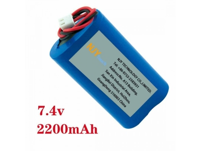 NJYTouch 7.4V 2200mAh Rechargeable Battery Pack Fishing Lights Dedicated Standby Power