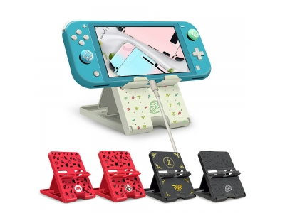 Stand Dock Bracket Adjust Playstand Foldable Holder Cradle For Nintendo Switch /Lite NS